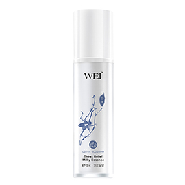 Lotus Blossom Thirst Relief Milky Essence | WEI | b-glowing