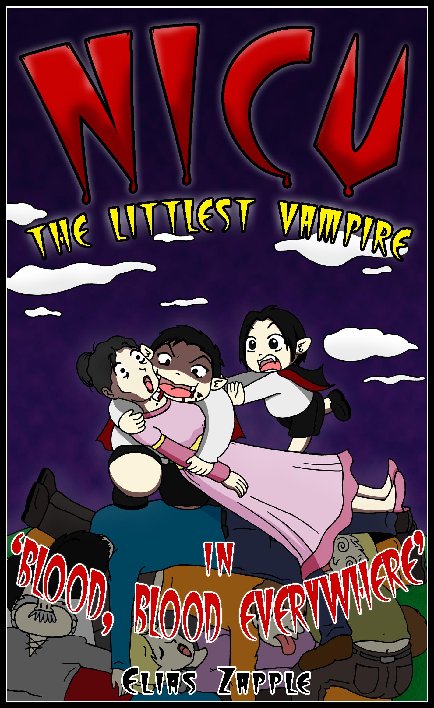 Nicu - the littlest vampire: in 'blood, blood everywhere'
