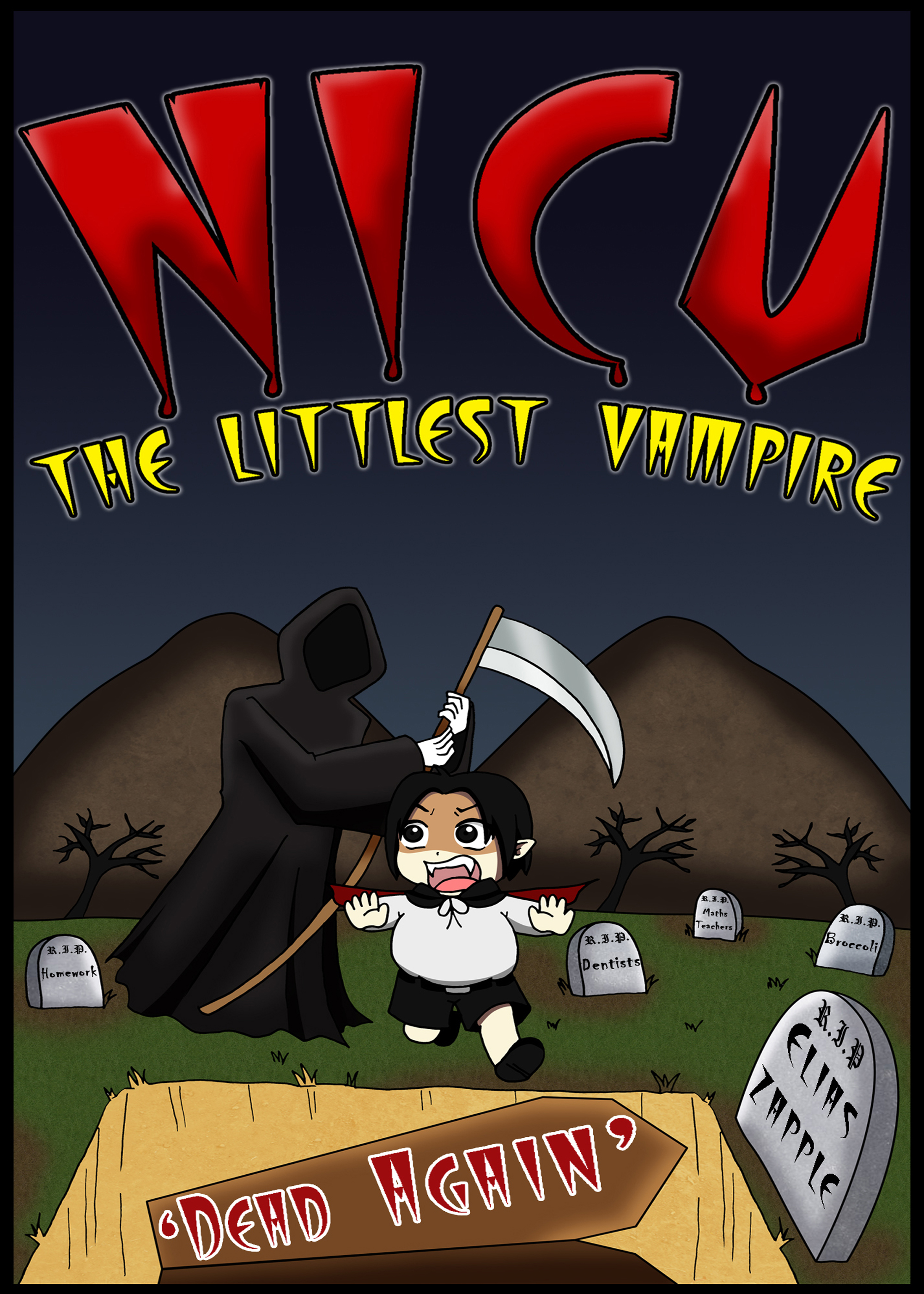 Nicu - the littlest vampire: in 'dead again'