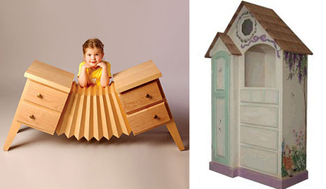 accordion dresser for kids