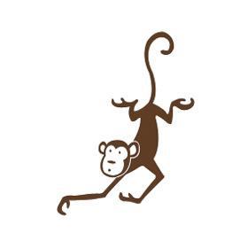 Wall  Baby Stuff on Murals  Nursery Art  Paint  Stickers  Monkeys    Wee Baby Stuff