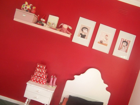 | Get ready for baby. « Keywords: nursery, inspiration, red, decor