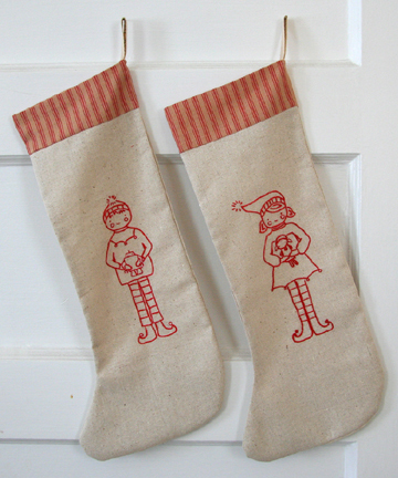 Maggie's Crochet   Christmas Stocking Free Pattern