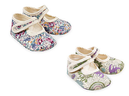 Zara Liberty of London Baby Shoes