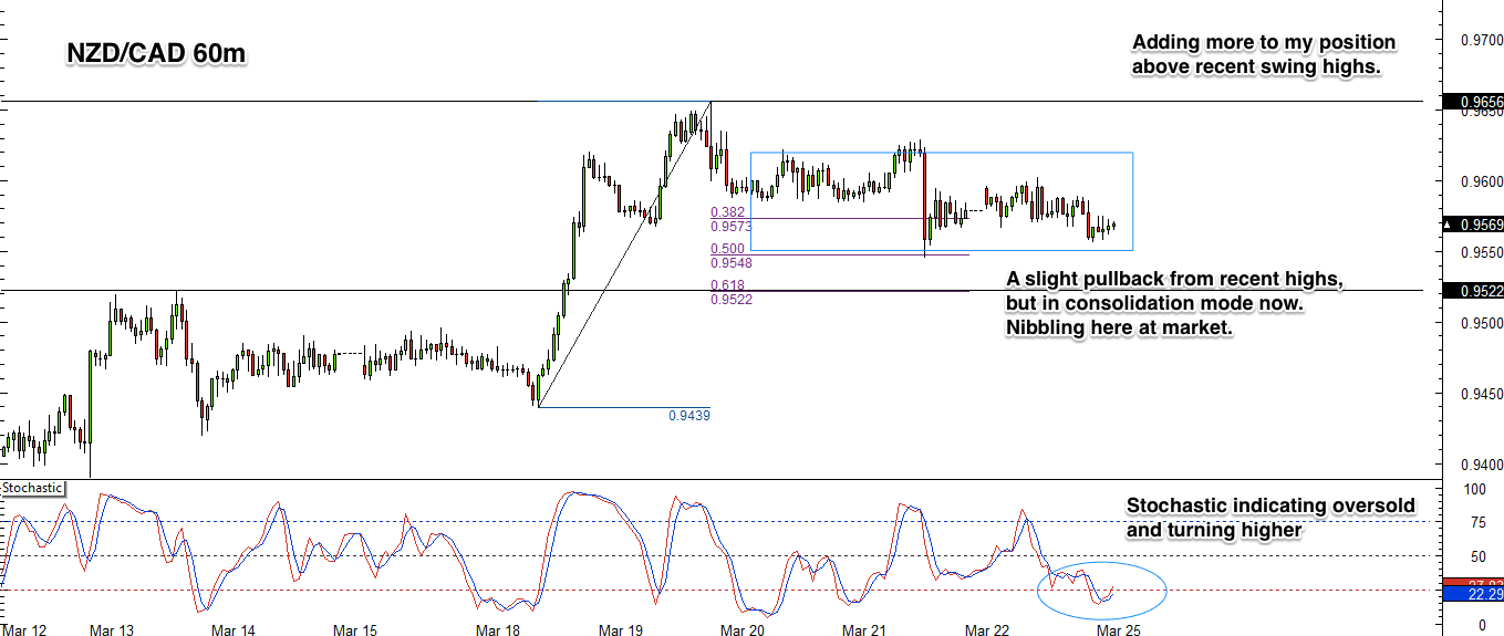 NZD/CAD 1 Hour Forex Chart