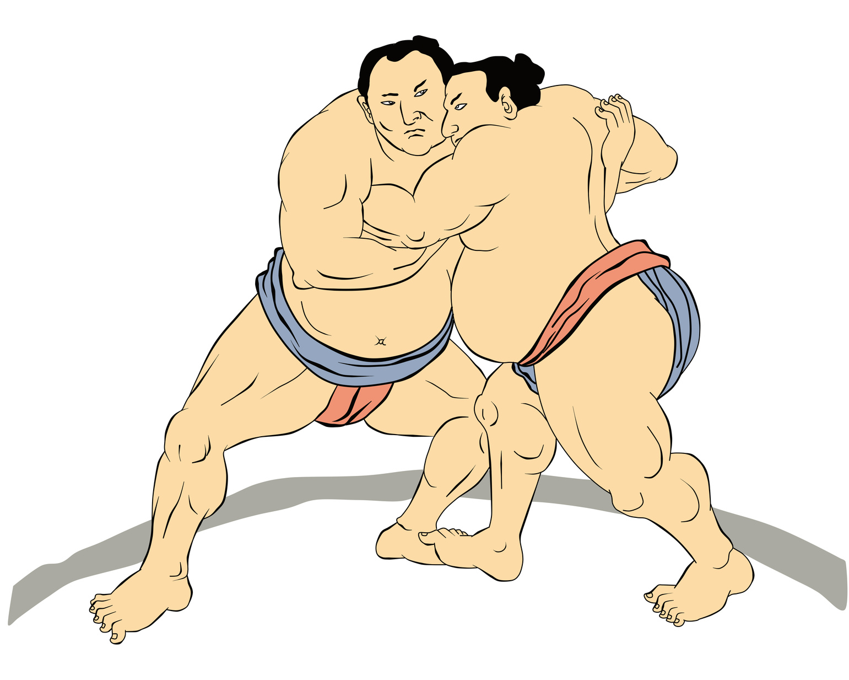 japanese yen sumo wrestler