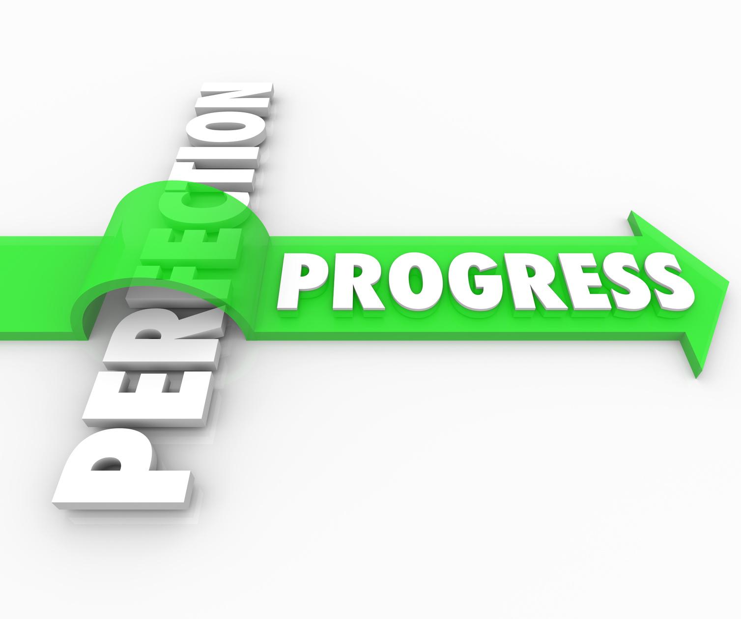 forex perfection versus progress