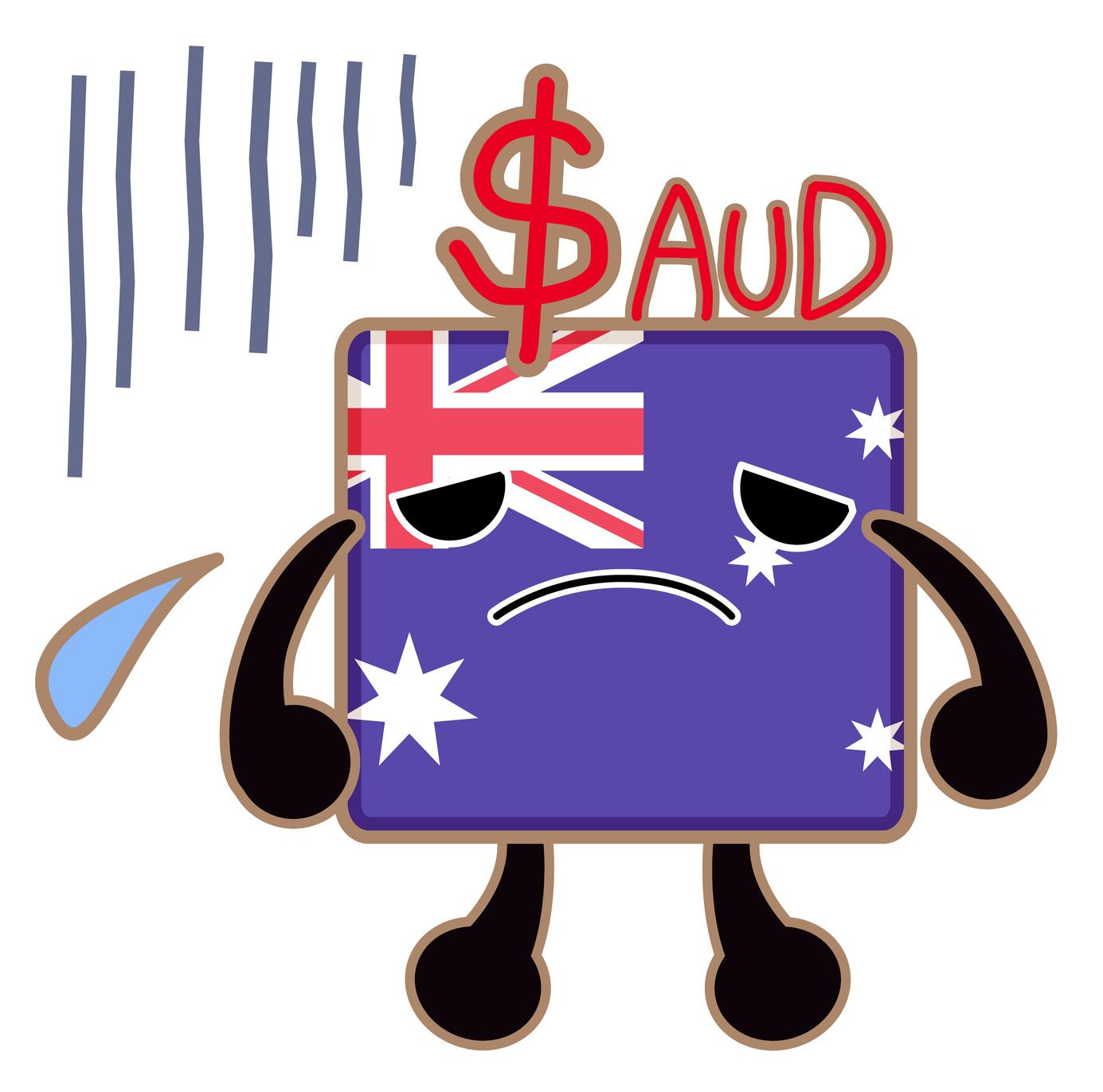 australian dollar weak