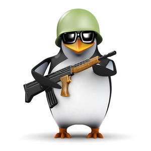 penguin soldier