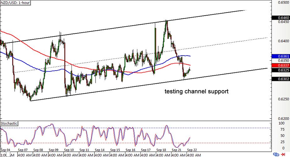 NZD/USD 1-hour Forex ChartNZD/USD 1-hour Forex Chart