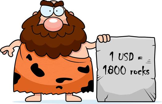 Currency Crosses Caveman