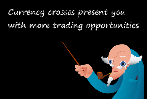 Currency crosses present forex traders with more trading opportunities.