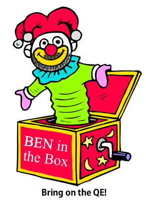 Bernanke in a jack-in-a-box