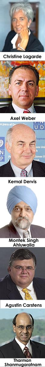IMF managing director candidates