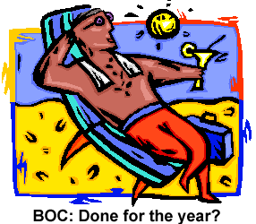 BOC sitting back