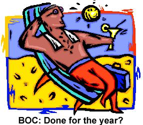 BOC sitting back