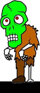 Gold zombie