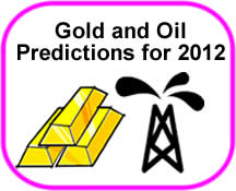 2012 Gold and Oil Predictions