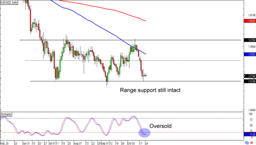 EUR/NZD: Daily Forex Chart
