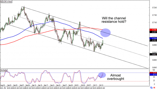 NZD/CHF: Daily Forex Chart