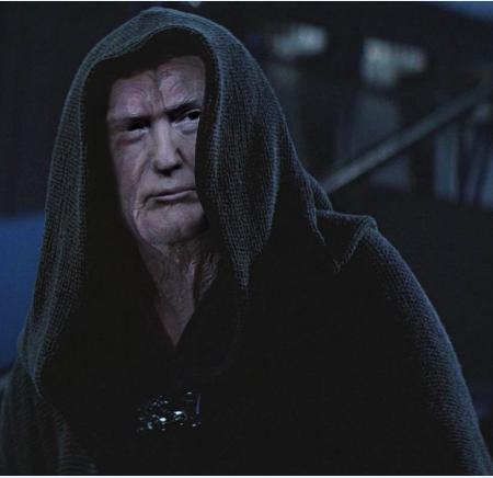 Evil Emperor Trump
