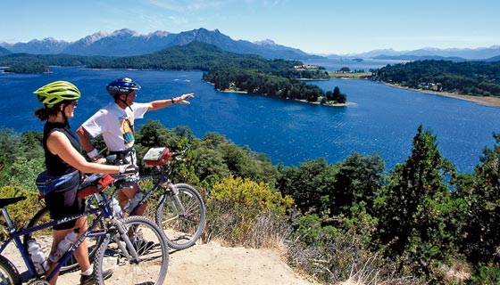 Argentina`s Lake District Family Biking 