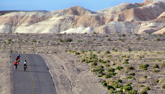 Death Valley Family Bike Tour