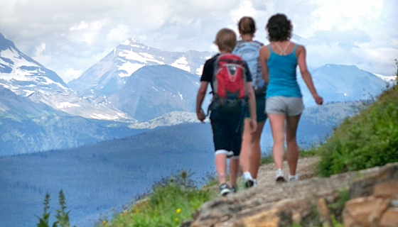 Glacier & Waterton Lakes Family Multisport Tour