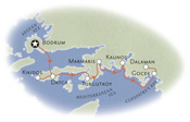 Turkey Biking Map