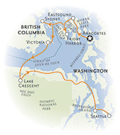 Washington British Columbia Map