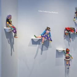 'Color Coded' installation view