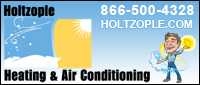 Website for Holtzople Heating & Air Conditioning