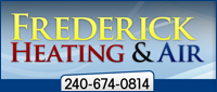 Website for Frederick Heating & Air Conditioning