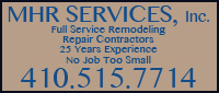 Website for MHR Services