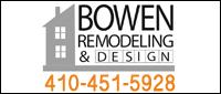 Website for Bowen Remodeling & Design