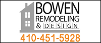 Website for Bowen Remodeling & Design