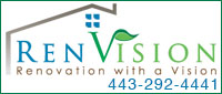 Website for RenVision Home Remodeling
