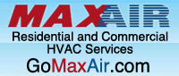 Website for Maxair Heating & A/C, Inc.