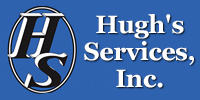Website for Hugh's Services, Inc.