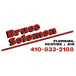 Website for Bruce J. Solomon Plumbing, Heating & Air