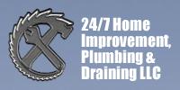 Website for 24/7 Home Improvement, Plumbing and Drain, LLC