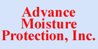 Website for Advance Moisture Protection, Inc.