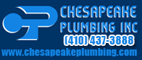 Website for Chesapeake Plumbing, Inc.