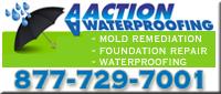 Website for AA Action Waterproofing, Inc.