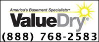 Website for Value Dry, LLC