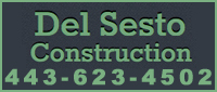 Website for Del Sesto Construction