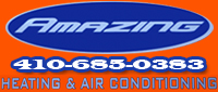 Website for Amazing Heating & Air Conditioning, Inc.