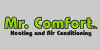 Website for Mr. Comfort Heating & Air Conditioning