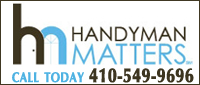 Website for Handyman Matters of Columbia
