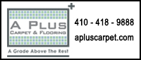 Website for A Plus Carpet and Flooring, Inc.